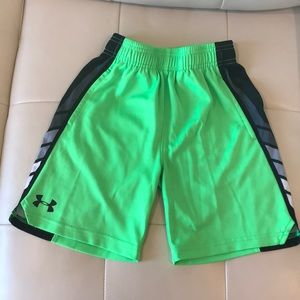 Under armour boys shorts size 7